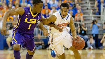 College Basketball - LSU at Florida