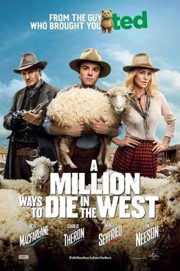 A Million Ways to Die in the West - R