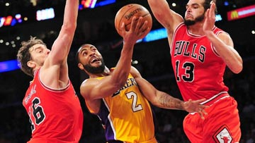 NBA on TNT - Chicago at LA Lakers