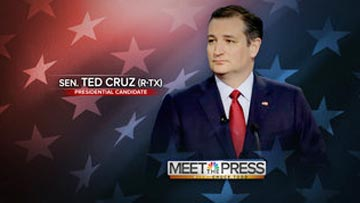 Meet the Press - Sen Ted Cruz