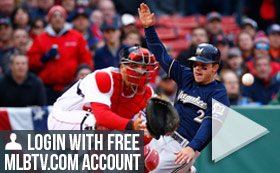 MLB TV Free Game of the Day - Reds v Brewers 720 PM ET