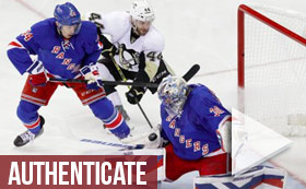 NHL Stanley Cup Playoffs - Rangers vs Penguins 7 PM ET
