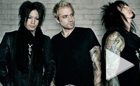 SixxAM featuring Apocalyptica - Yahoo Live Concert 10 PM ET