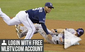 MLB TV Free Game of the Day - Padres vs Rockies 840 PM ET