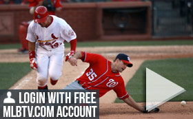 MLB TV Free Game of the Day - Cardinals vs Nationals 7PM ET