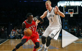 NBA Playoffs - Atlanta vs Brooklyn 425 3PM ET