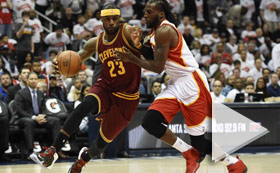 NBA Playoffs - Cavaliers vs Hawks 830PM ET