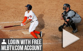 MLB TV Free Game of the Day - White Sox vs Astros 8PM ET