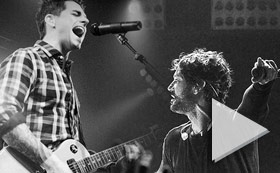 Third Eye Blind And Dashboard Confessional - Yahoo Live Concert 850PM ET