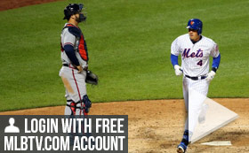 MLB TV Free Game of the Day - Mets vs Braves 730PM ET
