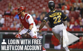 MLB TV Free Game of the Day - Reds vs Pirates 7PM