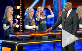 Celebrity Family Feud PREMIERE - Anthony Anderson vs Toni Braxton and Monica Potter vs Curtis Stone  ABC