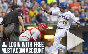 MLB TV Free Game of the Day - Brewers vs Phillies 7PM ET