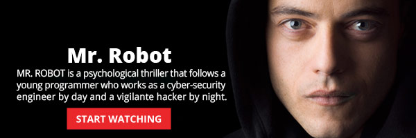 Watch Full Episodes of Mr. Robot Starring Rami Malek!