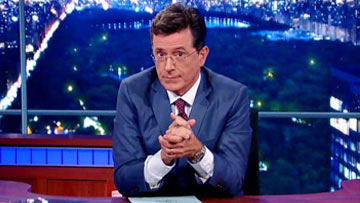 Late Show with Stephen Colbert - Amy Schumer author Stephen King