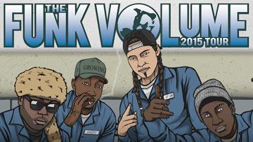 The Funk Volume 2015 Tour -