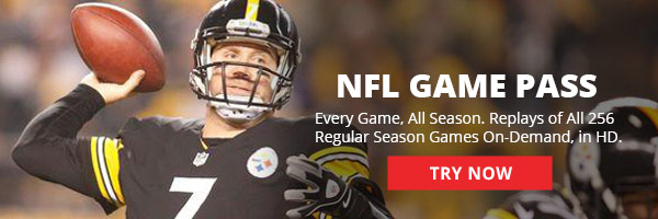 Enjoy Every Game All Season with NFL Game Pass!