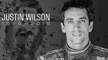 Justin Wilson Memorial Service - Indianapolis Motor Speedway