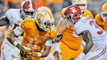 SEC Game of the Week - Tennessee at Alabama