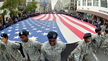 NY Veterans Day Parade - Live Stream
