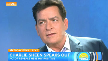 Today Show - Charlie Sheen Interview
