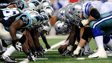 NFL on CBS - Panthers at Cowboys