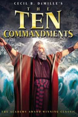 The Ten Commandments - G