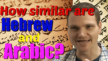 How Similar are Hebrew and Arabic -