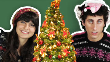 Jews Decorate Christmas Trees for the First Time -