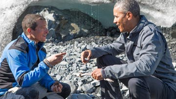 Running Wild with Bear Grylls - President Obama