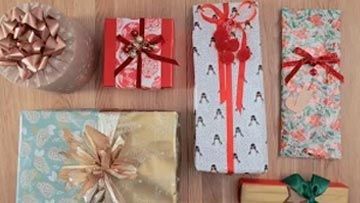 MS Gift Christmas Present Wrapping Ideas -