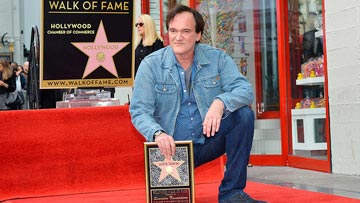 Hollywood Walk of Fame - Honors Quentin Tarantino