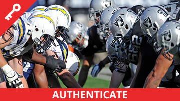 NFL - Chargers at Raiders