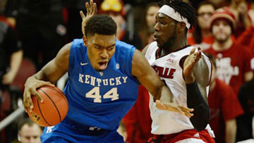 College Basketball - Louisville at Kentucky