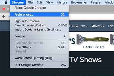 How to enable cookies on google chrome mac users rabbit tv click on the chrome menu at the top of the page ccuart Images