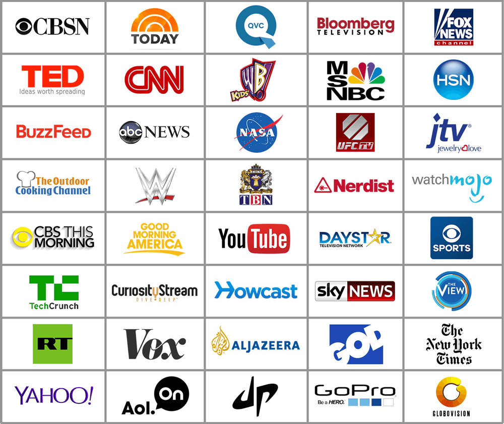 Live & Streaming Channels